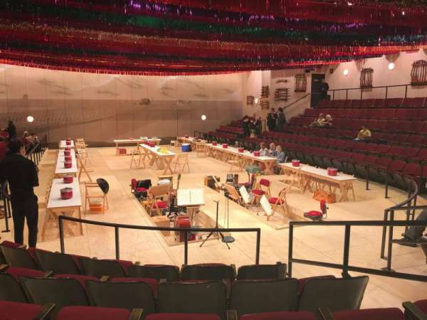 Circle in the Square Theatre, section: Orchestra 100 (Odd), row: F, seat: 109
