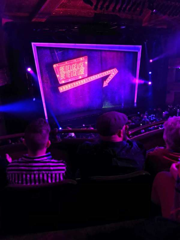 Winter Garden Theatre, section: Mezz, row: C, seat: 125