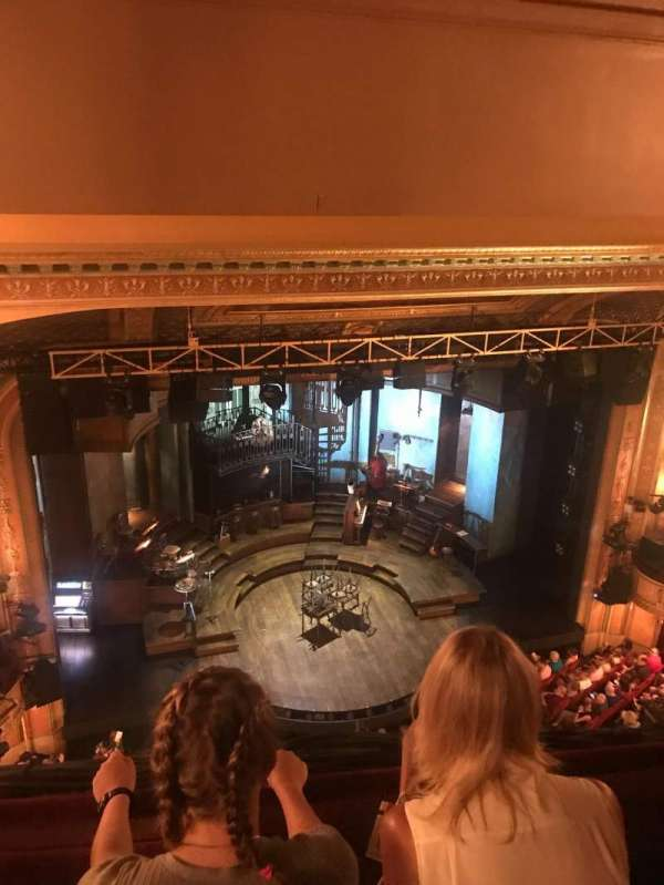 Walter Kerr Theatre, section: Balcony L, row: 2, seat: 9