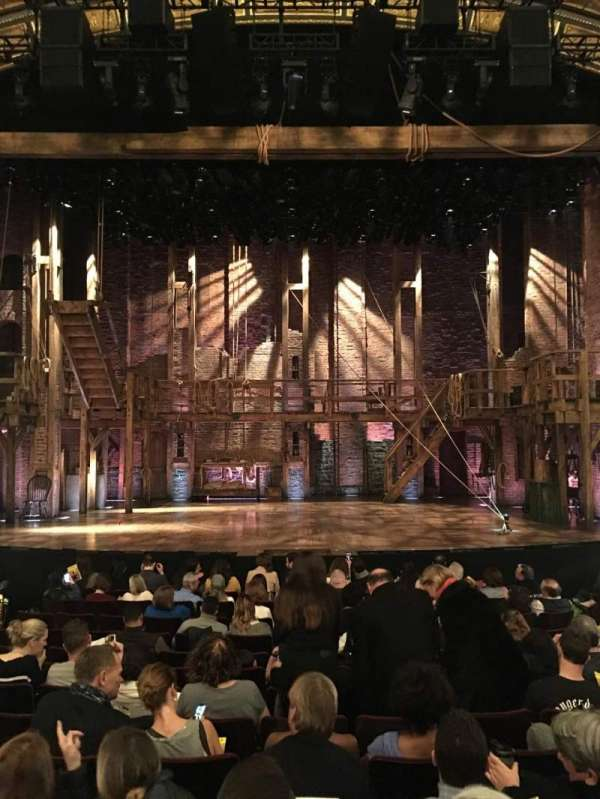 Richard Rodgers Theatre, section: Orchestra C, row: M, seat: 108