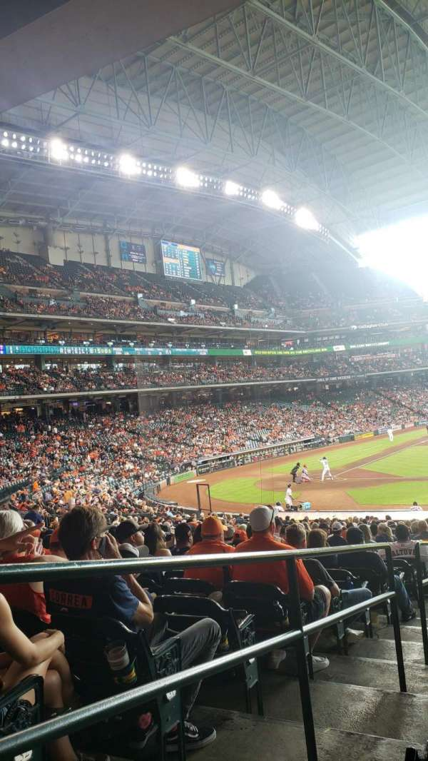 Minute Maid Park, section: 125, row: 34, seat: 1