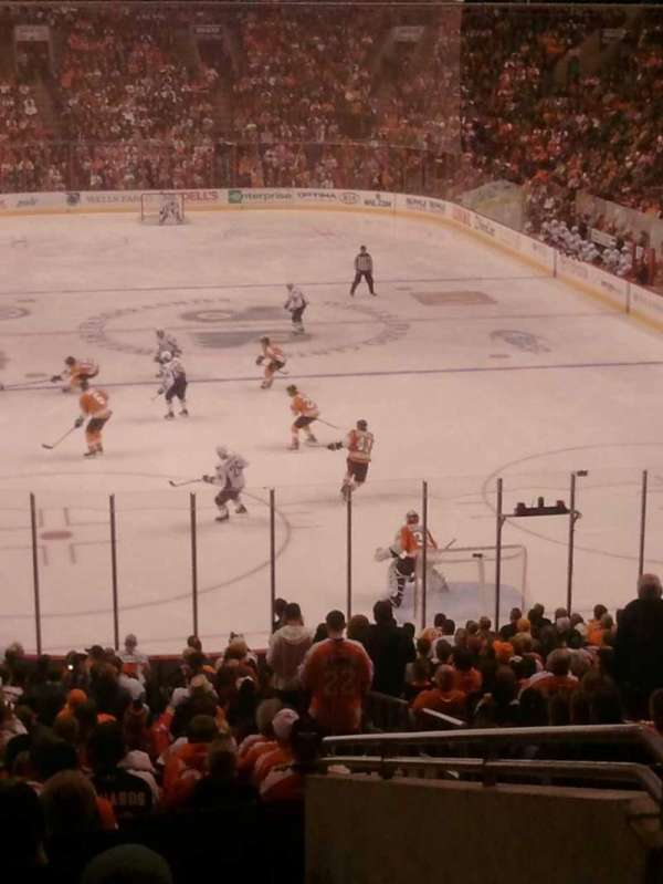 Wells Fargo Center, section: CC118, row: 1, seat: 22