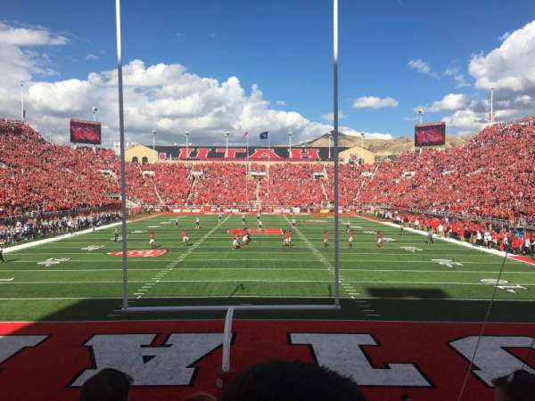 Rice-Eccles Stadium, section: S3, row: 3, seat: 8