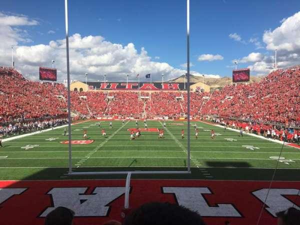 Rice-Eccles Stadium, section: S03, row: 3, seat: 8