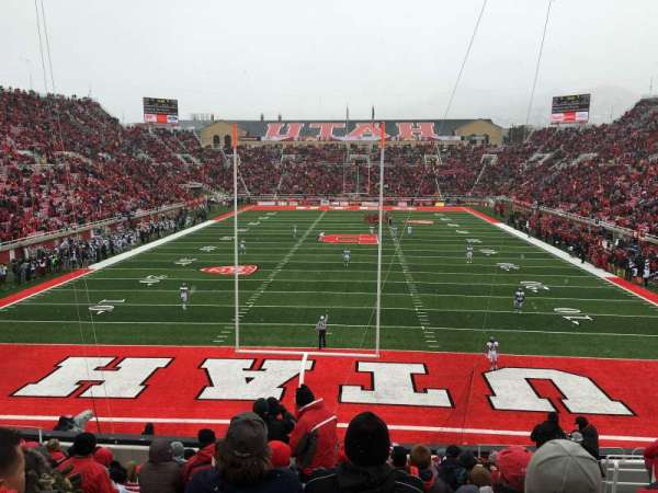 Rice-Eccles Stadium, section: S3, row: 14, seat: 6