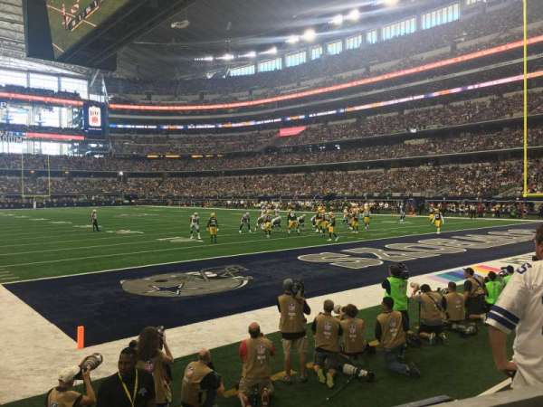 AT&T Stadium, section: 101, row: 1, seat: 3