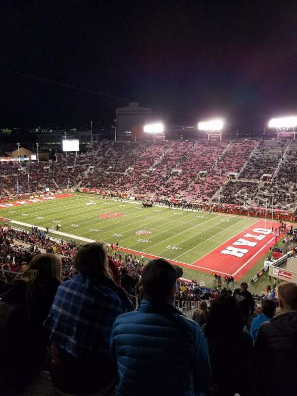 Rice-Eccles Stadium, section: W7, row: 59, seat: 4