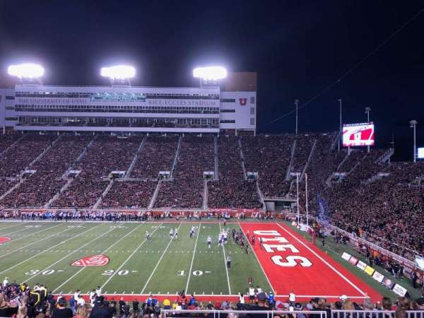Rice-Eccles Stadium, section: E34, row: 30, seat: 33