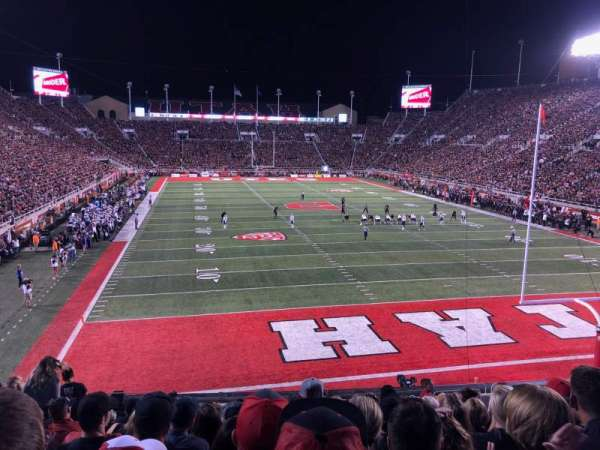 Rice-Eccles Stadium, section: S4, row: 13, seat: 25