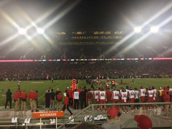 Stanford Stadium, section: 134, row: D, seat: 3