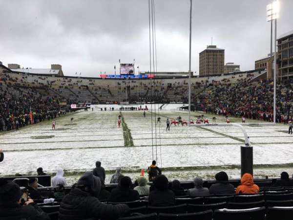 Folsom Field, section: 1, row: 9, seat: 8