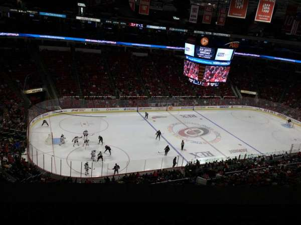 PNC Arena, section: 306, row: A, seat: 22