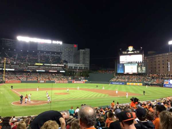 Oriole Park at Camden Yards, section: 30, row: 25