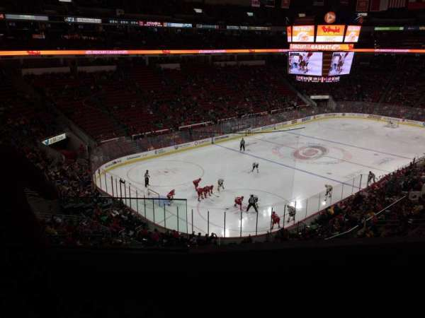 PNC Arena, section: 209, row: D, seat: 1