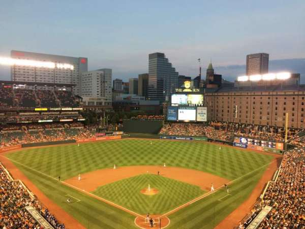 Oriole Park at Camden Yards, section: 336, row: 13
