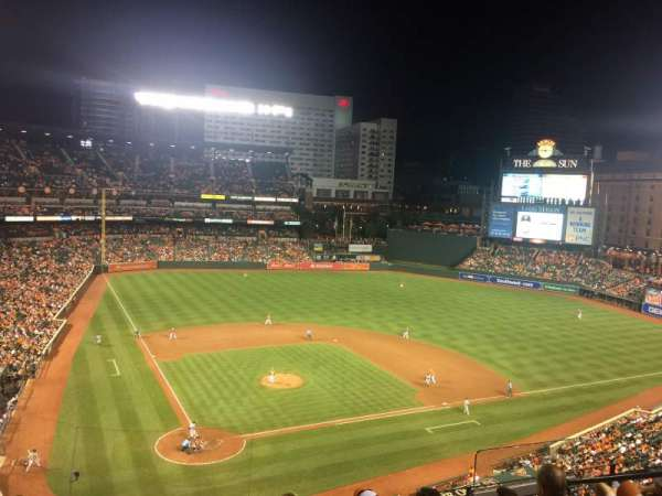 Oriole Park at Camden Yards, section: 330, row: 6
