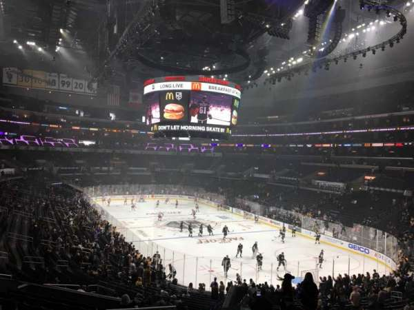 Staples Center, section: 209, row: 12, seat: 22