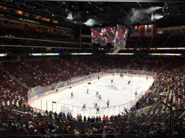Gila River Arena, section: C2, row: D