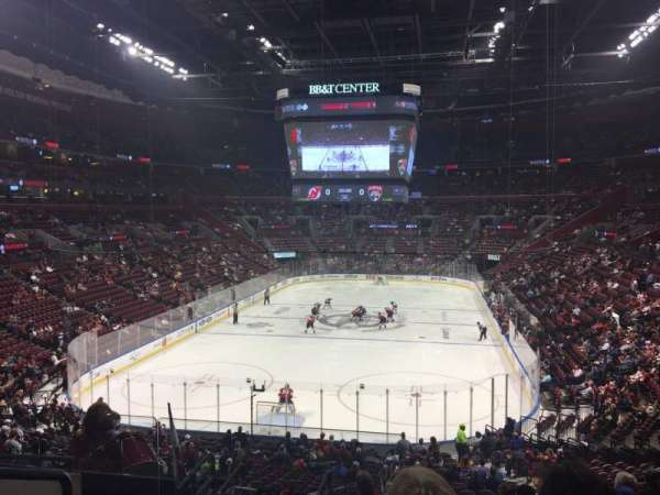 BB&T Center, section: 108, row: 27