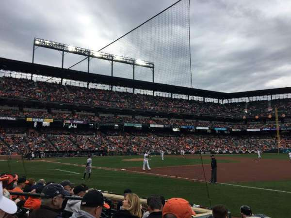 Oriole Park at Camden Yards, section: 14, row: 5