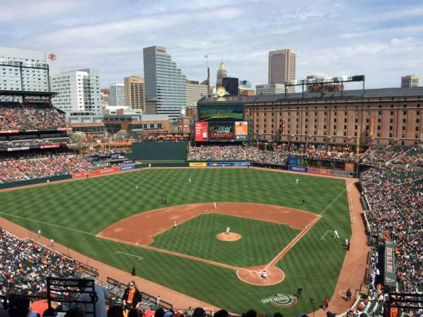 Oriole Park at Camden Yards, section: 342, row: 13, seat: 8