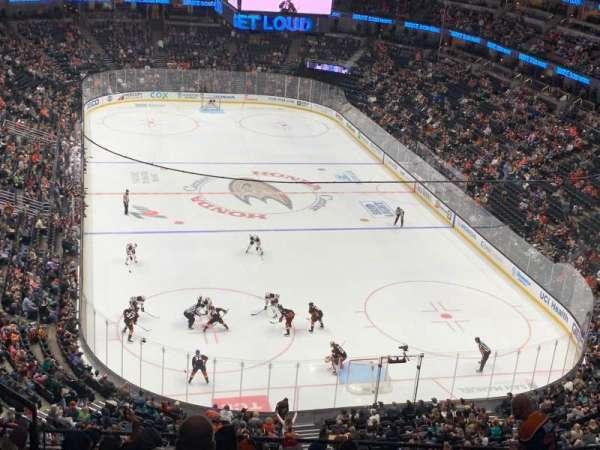 Honda Center, section: 402, row: K
