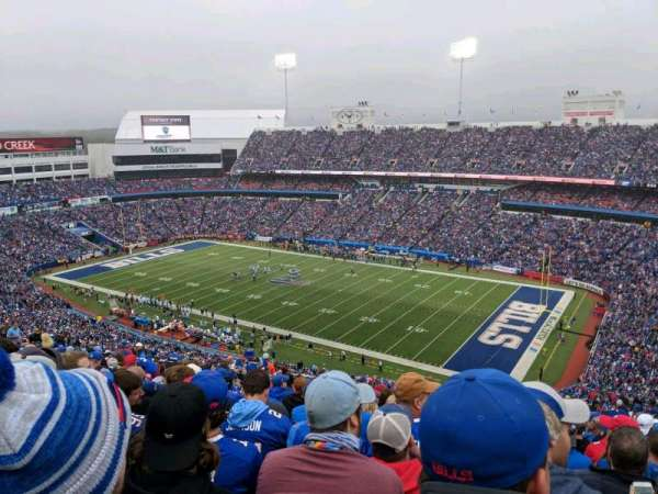 New Era Field, section: 307, row: 34, seat: 21