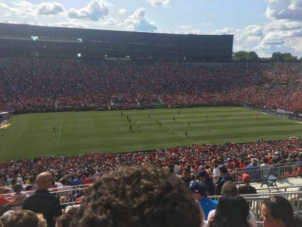 Michigan Stadium, section: 3, row: 83, seat: 8
