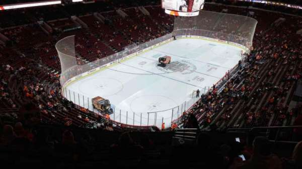 Wells Fargo Center, section: 221A, row: 13, seat: 8