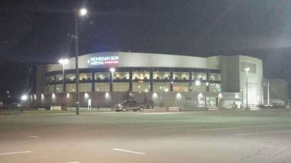 Mohegan Sun Arena at Casey Plaza, section: Exterior
