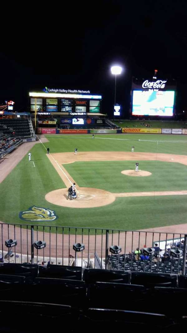 Coca-Cola Park, section: 206, row: D, seat: 18