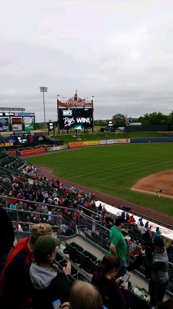 Coca-Cola Park, section: 212, row: E, seat: 10