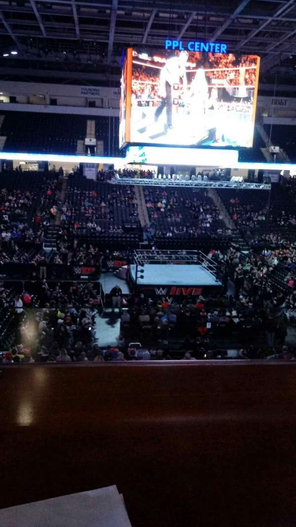 PPL Center, section: Loge Box 7, row: 1, seat: 1