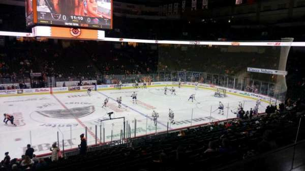 PPL Center, section: Loge Box 7, row: 1 , seat: 4