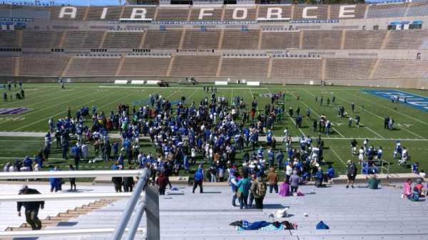 Falcon Stadium, section: M21, row: B, seat: 2