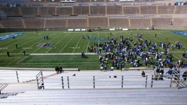 Falcon Stadium, section: m22, row: m, seat: 12