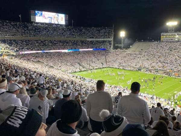 Beaver Stadium, section: EHU, row: 77, seat: 9