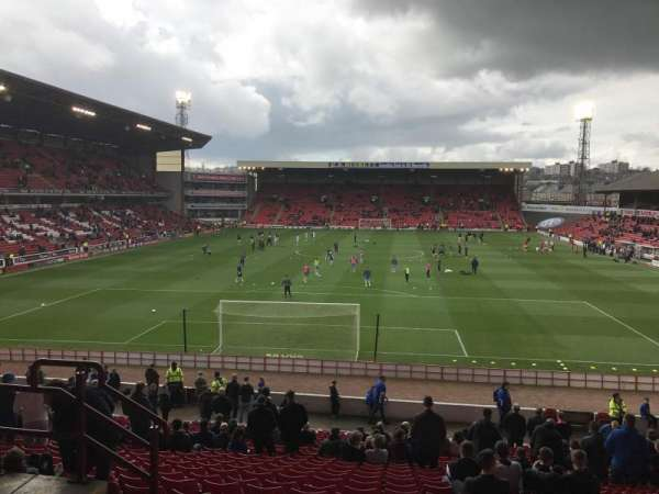 Oakwell Stadium, section: Ns3, row: Z, seat: 65