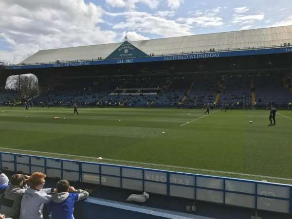 Hillsborough Stadium, section: North stand T1, row: 5, seat: 201