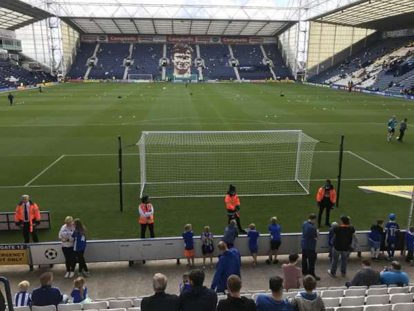 Deepdale, section: Bill shankly kop, row: 11, seat: 92