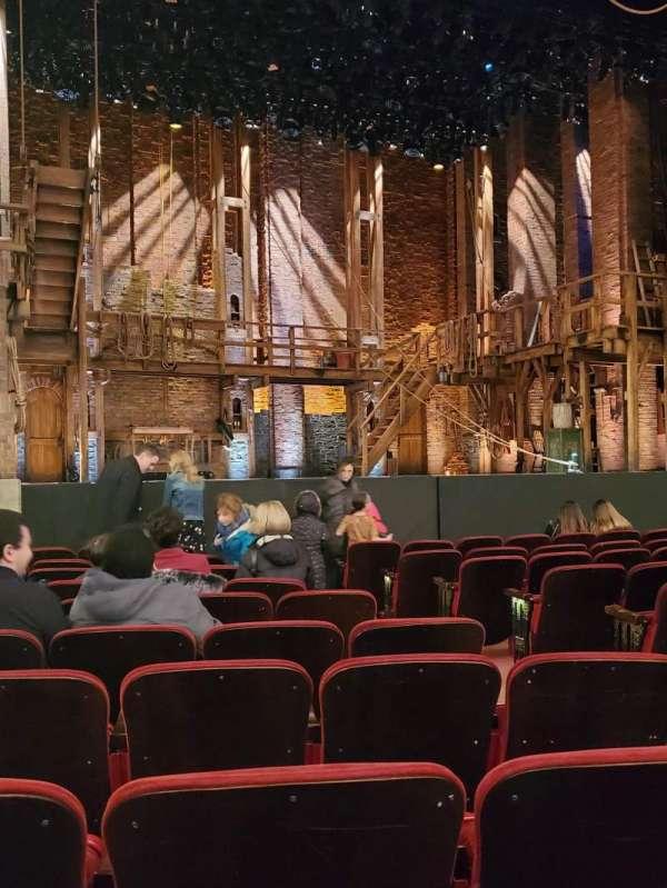 CIBC Theatre, section: Orchestra L, row: L, seat: 7