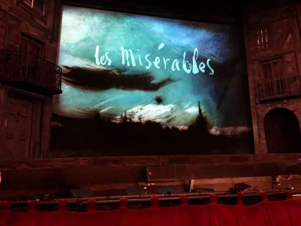 Hollywood Pantages Theatre, section: Orchestra C, row: B, seat: 113