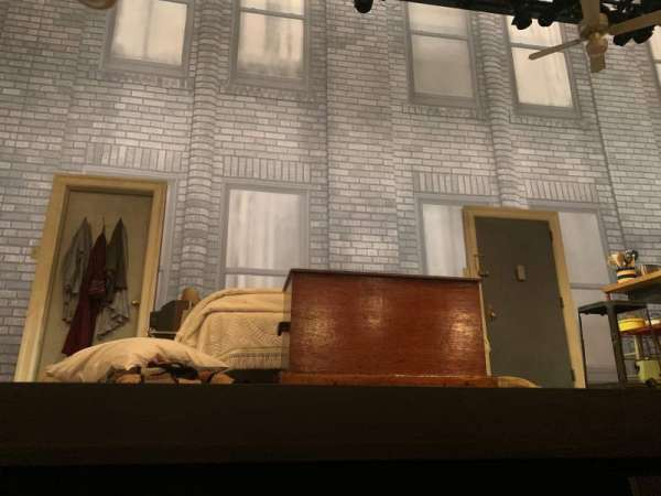 Broadhurst Theatre, section: Orchestra C, row: AA, seat: 104