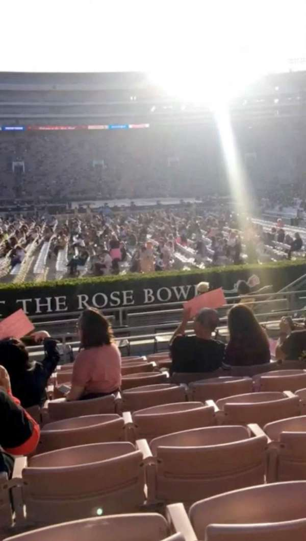 Rose Bowl, section: 5-L, row: 9, seat: 14