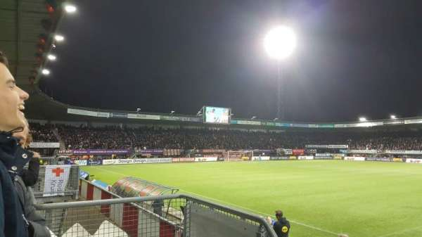 Sparta Stadion, section: 5, row: 2