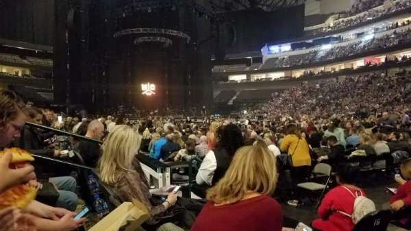 American Airlines Center, section: 116, row: B, seat: 3