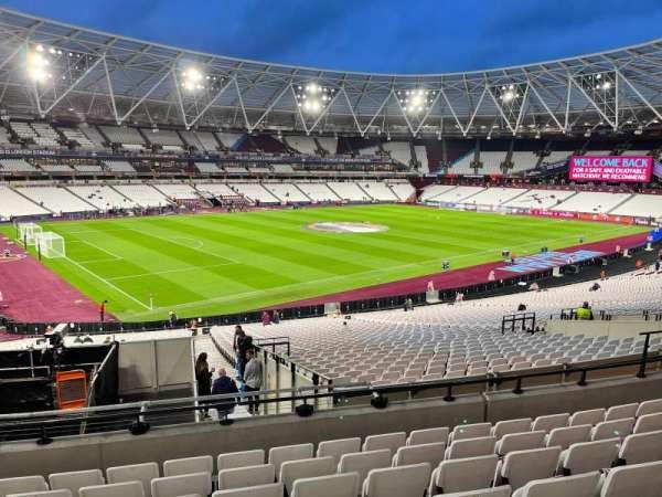 London Stadium, section: 230, row: 37, seat: 601
