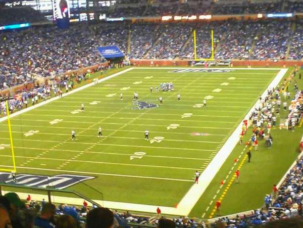 Ford Field, section: 321, row: 16, seat: 10