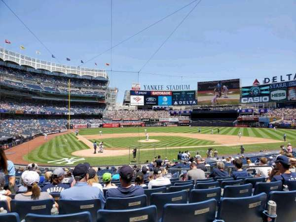 Yankee Stadium, section: 118, row: 12, seat: 6