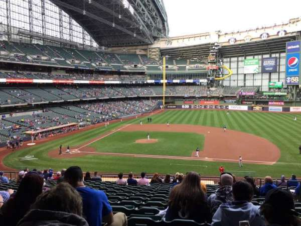 Miller Park, section: 213, row: 17, seat: 18
